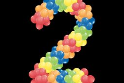 number of balloons